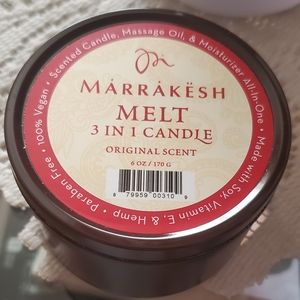 Marrakesh 3 in one candle